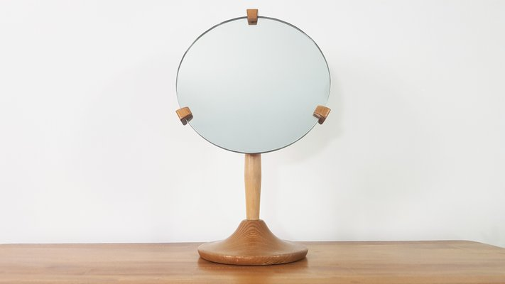 Vanity Mirror.Vintage Vanity Mirror By Lucian Ercolani For Ercol 1960s