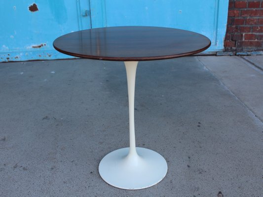 Round Tulip Side Table By Eero Saarinen For Knoll International, 1970s 1