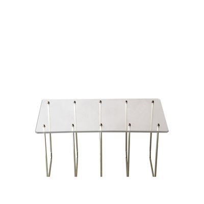 French Coffee Table In Methacrylate 1970s