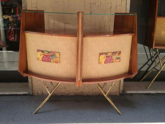 Vintage Bar Cabinets, 1960s, Set of 2 1 - Vintage Bar Cabinets, 1960s, Set Of 2 For Sale At Pamono