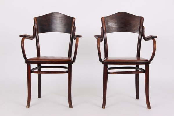 Antique Armchairs From Thonet, Set Of 2 1