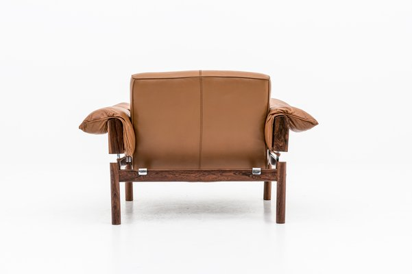 Tremendous Mid Century Brazilian Lounge Chairs In Leather Rosewood By Percival Lafer Set Of 2 Ibusinesslaw Wood Chair Design Ideas Ibusinesslaworg