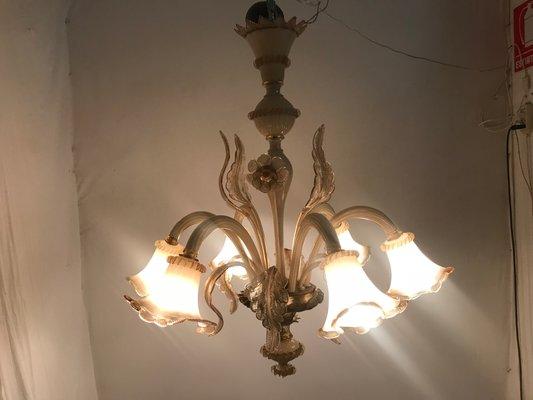 Kronleuchter Aus Murano Glas ~ Venezianischer vintage murano glas kronleuchter bei pamono kaufen