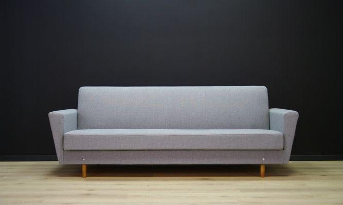 Divano Letto Curvo : Divano letto vintage grigio di dantos møbler in vendita su pamono