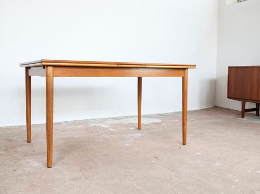 Danish Extendable Table In Teak, 1960s 2