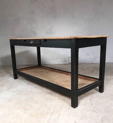 Antique Rustic English Pine Farmhouse Table 3
