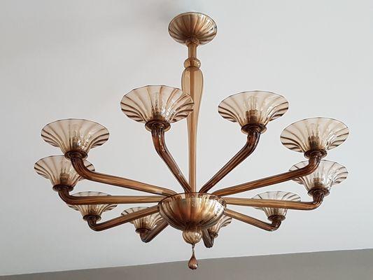 Art deco murano chandelier 1936 for sale at pamono art deco murano chandelier 1936 1 aloadofball Gallery