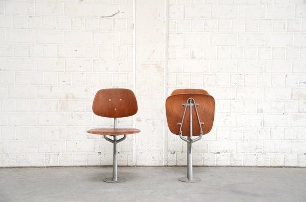 Mid Century Danish Folding Teak Chairs, Set Of 2 2