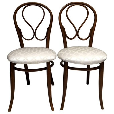 Antique Bentwood Chairs From Thonet, Set Of 2 1