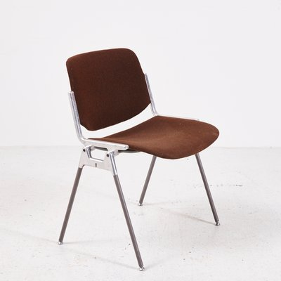 Giancarlo Piretti Design.Vintage Dsc 106 Side Chair By Giancarlo Piretti For Castelli