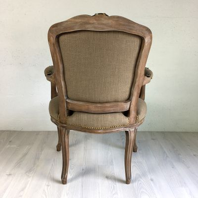 Delicieux Antique Louis XV Armchair 4