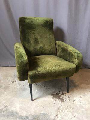 Vintage Green Armchair, 1960s 3