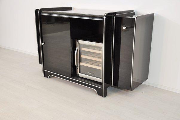 Credenza Con Frigo : Credenza art deco con mini frigo in vendita su pamono