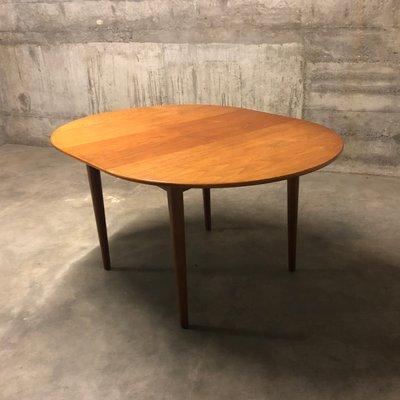 Round Table Orange.Mid Century Round Teak Dining Table By Ib Kofod Larsen For G Plan 1960s
