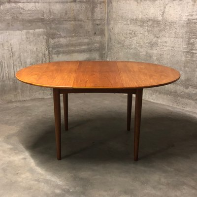 Mid Century Round Teak Dining Table By Ib Kofod Larsen For G Plan, 1960s