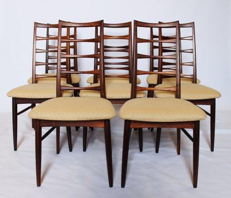 86b7ffb0fd7be Model Lis Dining Chairs by Niels Koefoed for Hornslet Møbelfabrik ...
