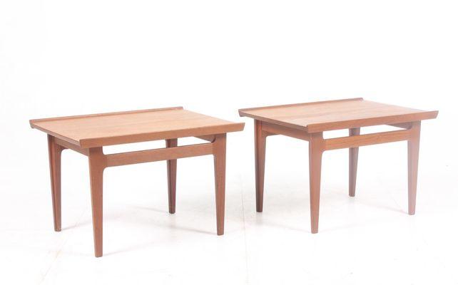 Side Tables By Finn Juhl For France Daverkosen