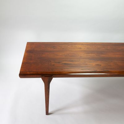 Table Basse Extensible En Palissandre Par Johannes Andersen Pour Cfc Silkeborg 1960s