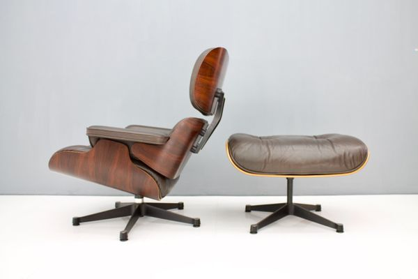 Rosewood Lounge Chair With Ottoman By Charles U0026 Ray Eames For Vitra, 1970s  15
