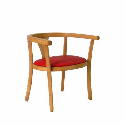 Chaise DEnfant Rouge De Baumann