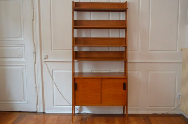 Mid century modern bookshelf by andré simard for meubles tv 1