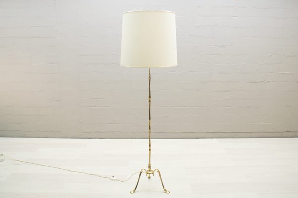 Vintage Brass Tripod Floor Lamp 1960s For Sale At Pamono
