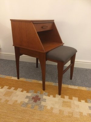 Telephone Table And Seat Set From Chippy Heath 1960s 2