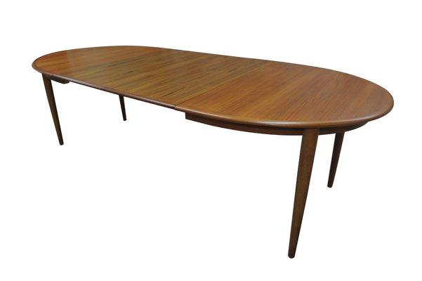 Vintage Teak Extendable Dining Table By Kai Kristiansen For Skovmand Andersen 1