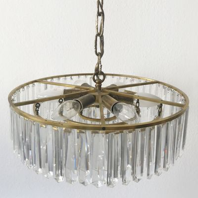 Viennese crystal glass chandelier from bakalowits shne 1950s for viennese crystal glass chandelier from bakalowits shne 1950s 14 aloadofball Choice Image