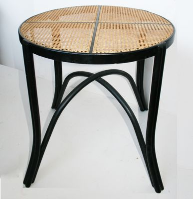 Vintage Black Curved Wood Coffee Table From Gasisa For Sale At Pamono