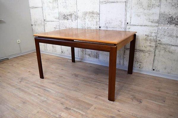 Table De Salle à Manger Vintage En Teck Extensible De O.D. Møbler 1
