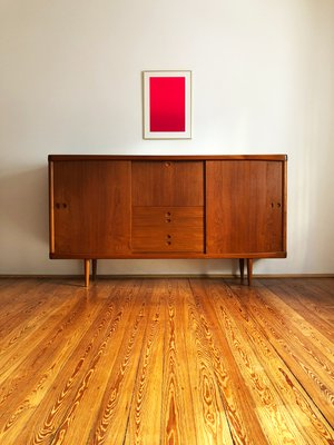 Sidetable Wit Klein.Mid Century Modern Teak Sideboard By H W Klein For Bramin