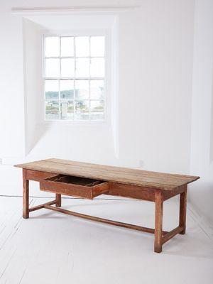 Tavolo da cucina antico dipinto in vendita su Pamono