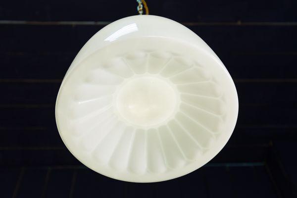 Opalin1950s Bistro À Lampe Verre Suspension En dxeCBo