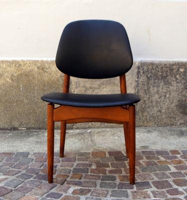 Mid Century Italian Chairs 1950s Set Of 6 1