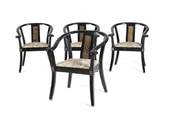 Vintage Chairs From Versace Set Of 4