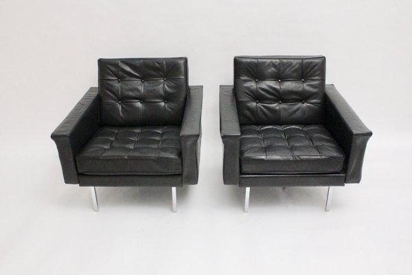 Mid Century Modern Club Chairs By Johannes Spalt For Wittmann, 1960s, Set Of
