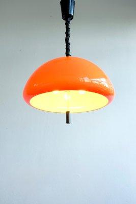 Lampe à Suspension Ajustable par Harvey Guzzini pour Meblo, 1976