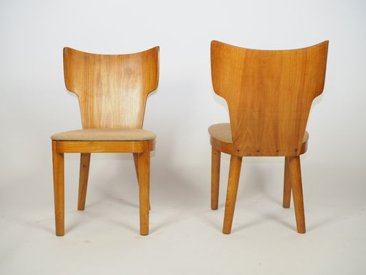 Tremendous Bentwood Chairs 1940S Set Of 2 Spiritservingveterans Wood Chair Design Ideas Spiritservingveteransorg