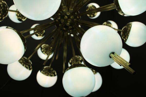 Kronleuchter Glaskugeln ~ Einen kronleuchter basteln u wikihow