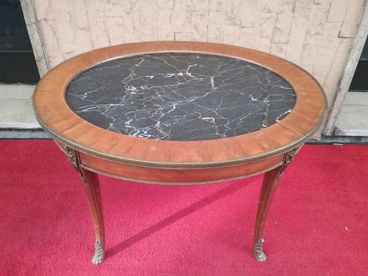 Antique French Coffee Table From Caltagirone 5