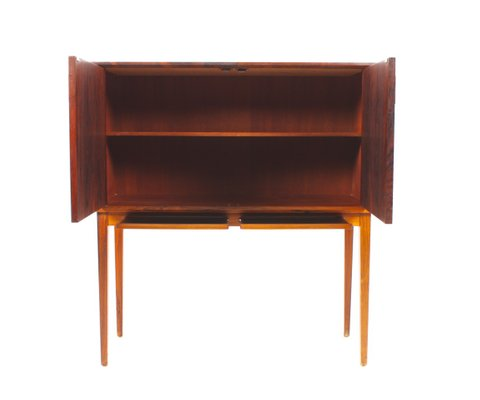 Mid Century Rosewood Dry Bar Cabinet 2