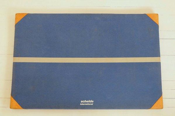 34566ec45a0ad7 Tappetino da palestra vintage di De Schelde in vendita su Pamono