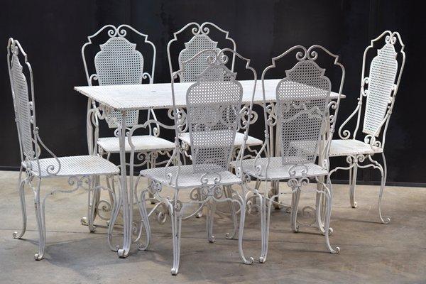 Produttori Di Tavoli E Sedie.Set Di Tavolo E Sedie Anni 50