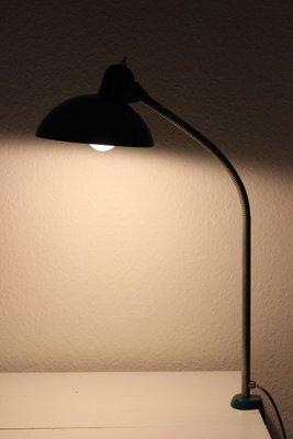 Lampe De Bureau Verte Vintage Bauhaus Par Christian Dell Pour Kaiser