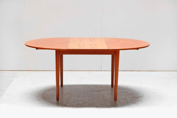 Mid Century Danish Teak Dining Table By Nils Jonsson For Tores, 1960s 1