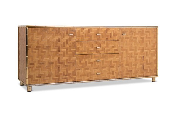 hollywood regency bambus sideboard 1