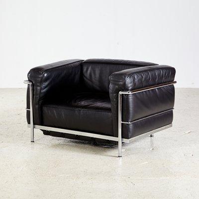 Poltrona Le Corbusier.Poltrona Lc3 Vintage Di Le Corbusier Per Cassina