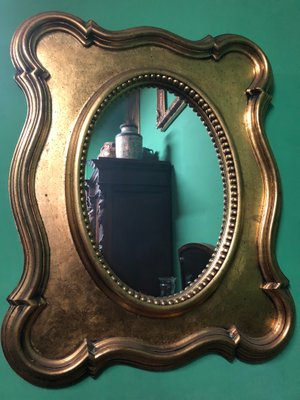 19e55fc5d Antique Gold Mirror, 1900s for sale at Pamono