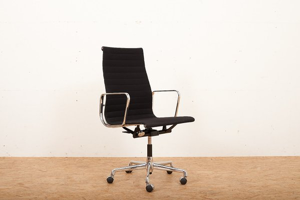 Vitra Chalres Eames : Vintage alu group ea 119 office chair by charles & ray eames for